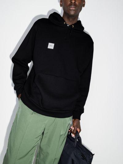 Home Base cotton hoodie