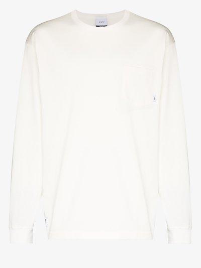 long sleeve cotton sweatshirt