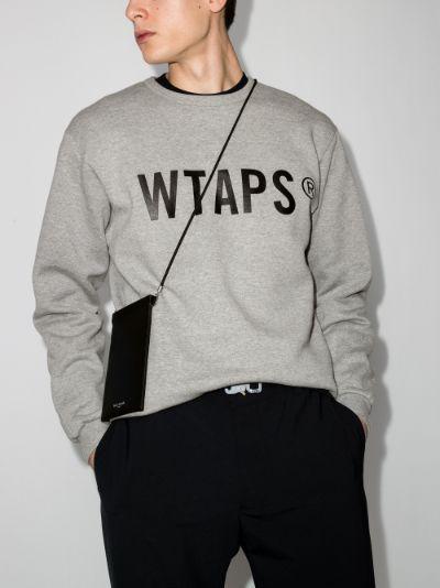 WTVUA logo print sweatshirt