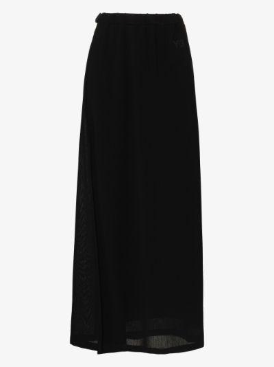 Airy Gauze Maxi Skirt