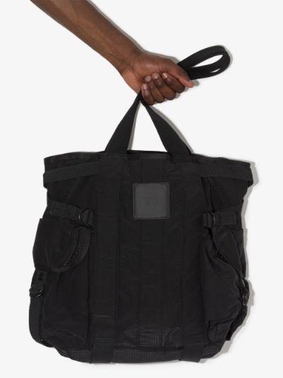 Black CH2 Utility tote bag