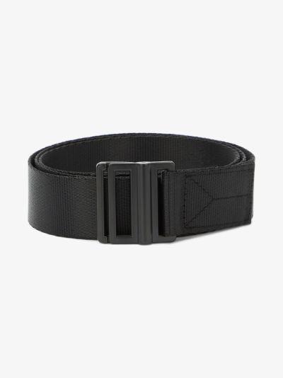 Black Classic Logo Belt