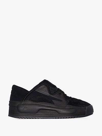 black Hokori II low top sneakers