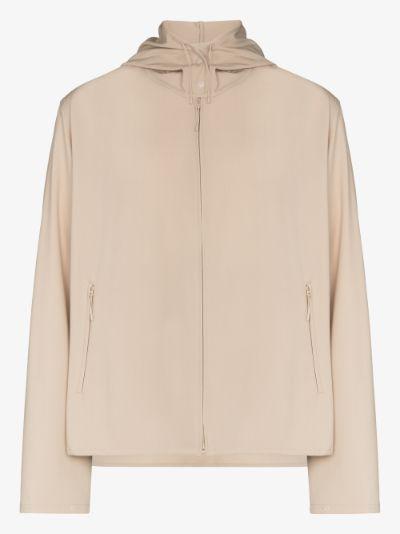 Classic stretch windbreaker jacket