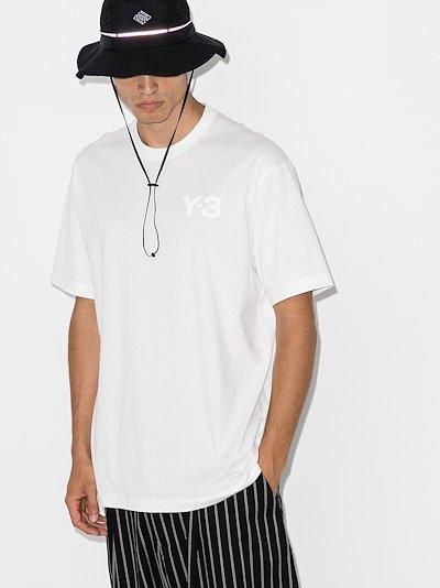 cotton jersey logo T-shirt