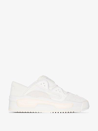 white Hokori II sneakers