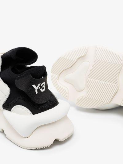 white Kaiwa leather sneakers