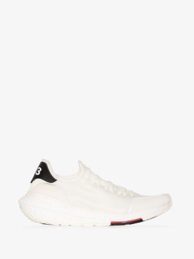 white ultraboost 21 sneakers