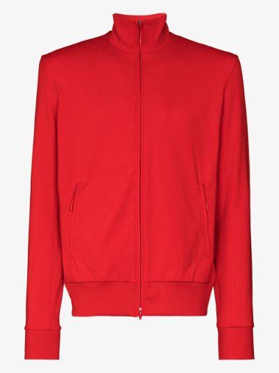 zip-up track jacket