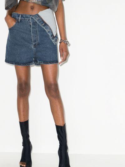 Evergreen Classic Asymmetric Denim Shorts