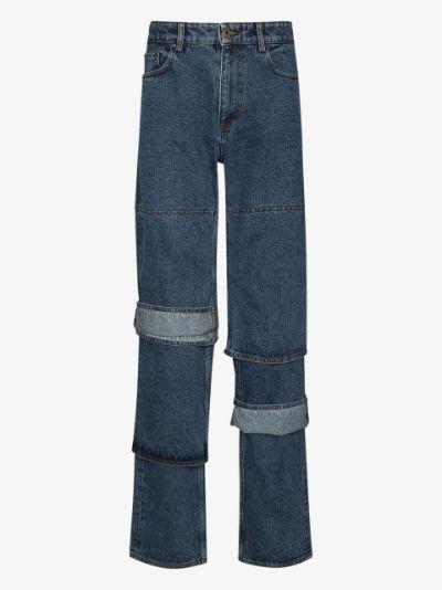 Evergreen Classic cuff jeans