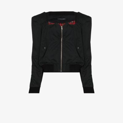 sweetheart front bomber jacket