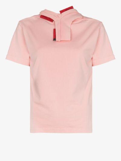 three collar cotton T-shirt