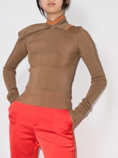 three collar sweater