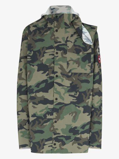 X Canada Goose Nanaimo rain jacket