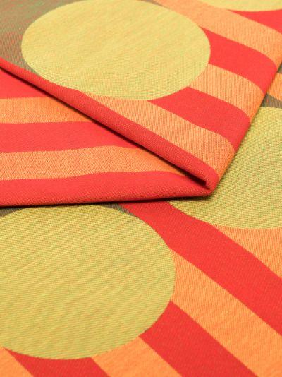 Orange Aami Aami cotton tablecloth