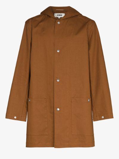 Beat Generation Hooded Coat
