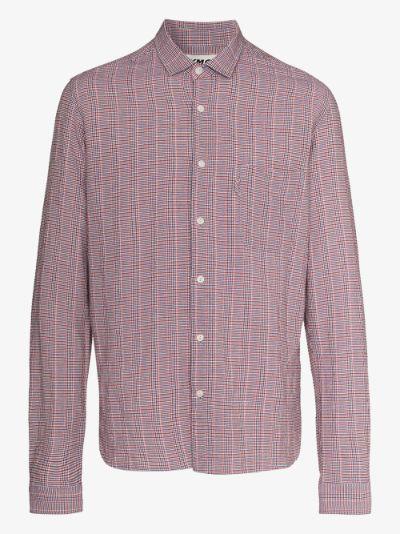 Curtis button-up check shirt