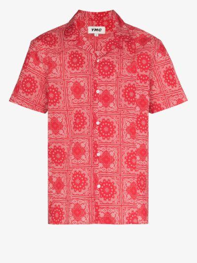 Malick bandana print cotton shirt