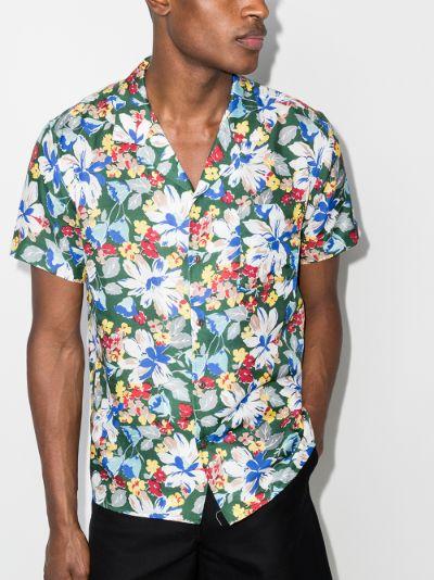 Malick floral print shirt