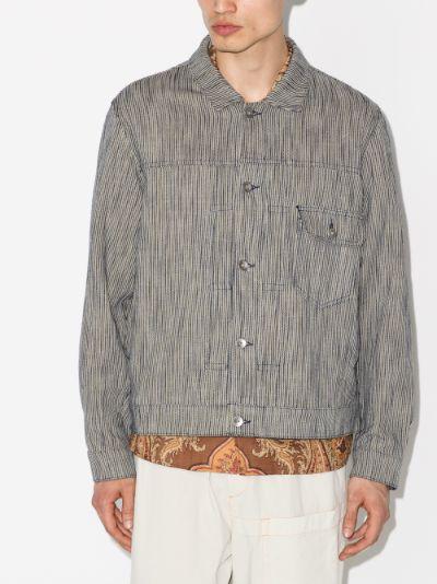 Striped MK1 button jacket