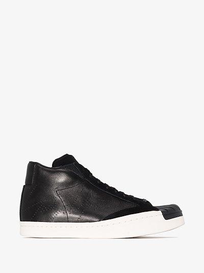 Black Superstar Skate sneakers