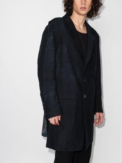 Portrait print jacket