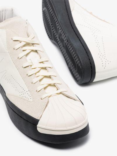 White Superstar Skate sneakers
