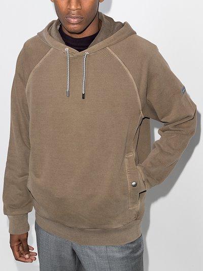 pocket cotton hoodie
