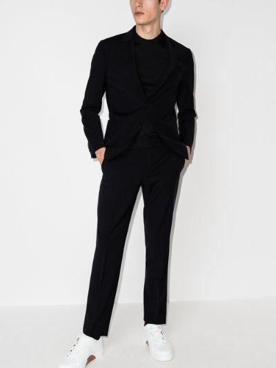 Techmerino two-piece wool suit