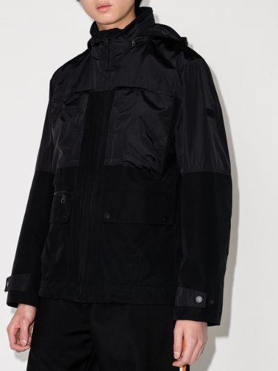 Techno shell field military jacket