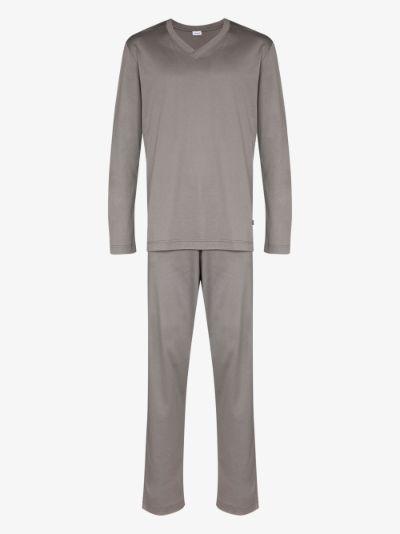 Long Cotton Pyjamas