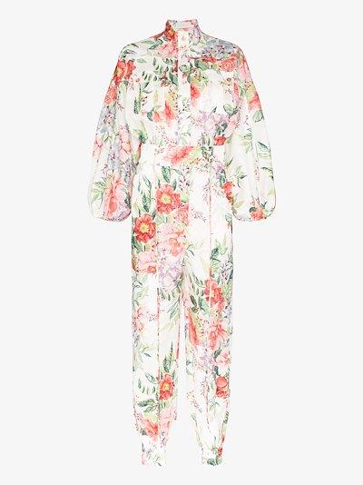 Bellitude floral jumpsuit