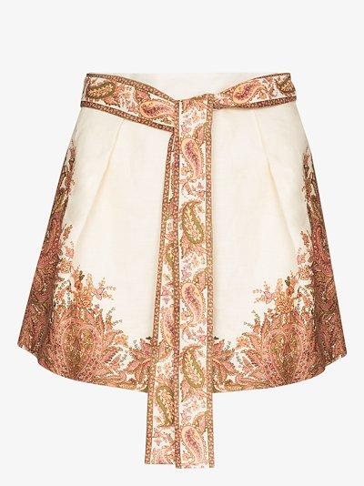 Brighton tuck shorts