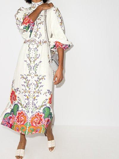Lovestruck floral linen dress