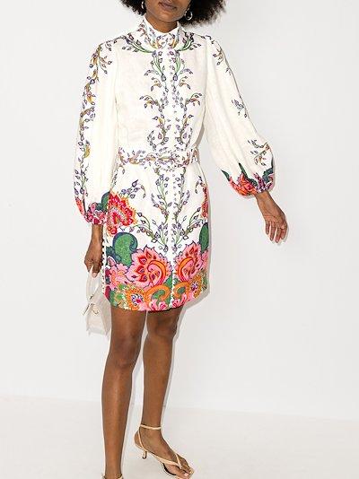 Lovestruck linen tunic dress