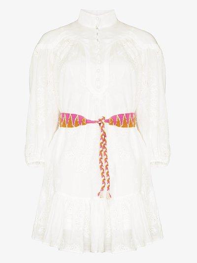 Riders belted Mini Dress